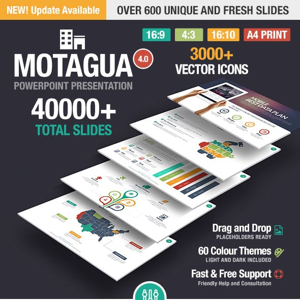 Motagua – Multipurpose PowerPoint Template